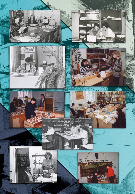 plansza 9 wystawa Ewolucja nowych przestrzeni bibliotecznych